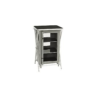 Outwell Domingo Foldable Storage Cupboard With 3 Shelves Grey
