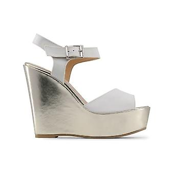 Made in Italia - Shoes - Wedge Pumps - BETTA_BIANCO - Women - white,gold - 38