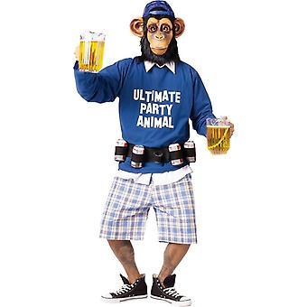 Party Animal voksen drakt