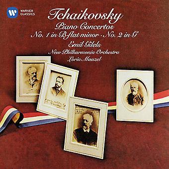 Gilels*Emil / Maazel*Lorin / New Philharmonia - Tchaikovsky: Piano Concertos Nos 1 & 2 [CD] USA import