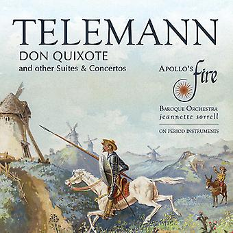 Apollo's Fire / Sorrell - Don Quixote and Other Suites & Concertos [CD] USA import