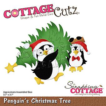 Scrapping Cottage Penguins Christmas Tree
