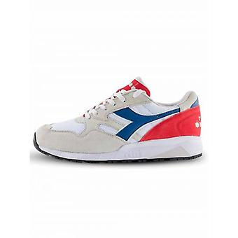 Diadora White, Navy & Red N902 Sneaker