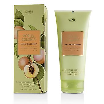 4711 Acqua Colonia White Peach & Coriander Moisturizing Body Lotion 200ml/6.8oz
