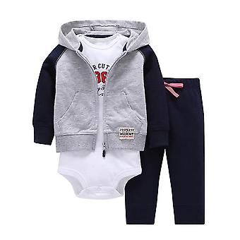 Baby Jacket, Bodysuit And Pants Outfit , Design 5
