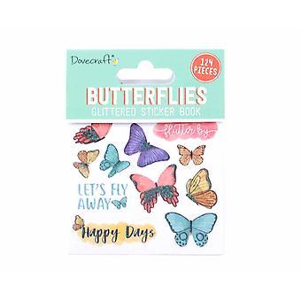 Dovecraft Butterflies Sticker Book