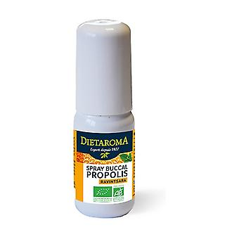 Oral spray propolis + organic ravintsara 20 ml