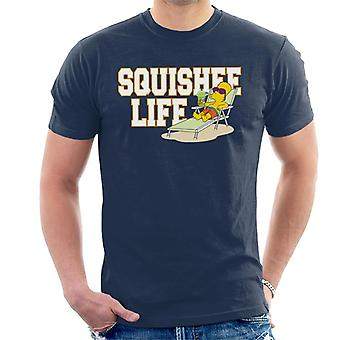The Simpsons Squishee Life Bart Men's T-Shirt