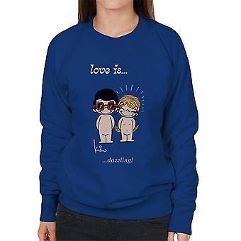 Love Is Dazzling Women's Sweatshirt
