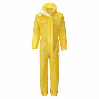 sUw - BizTex Microporous 3/4/5/6 Coverall Yellow XL