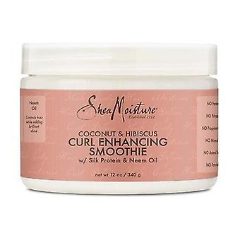 shea moisture c&h curl smoothie /12oz 340 g