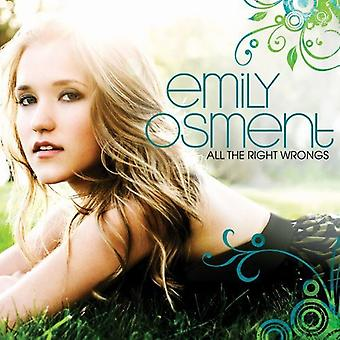 Emily Osment - All the Right Wrongs [CD] USA import