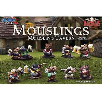Reaper Miniatures Boxed Set - Mousling Tavern (10)