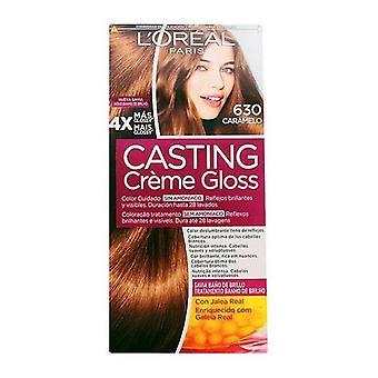 Colorant Pas d'AmmoniaQue Coulée Creme Gloss L'Oréal Make Up Caramel