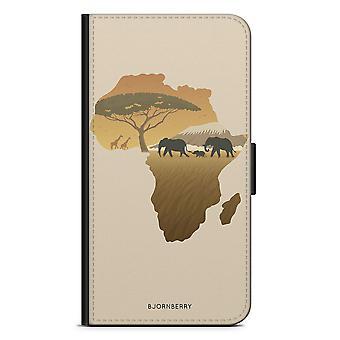 ビョルンベリーウォレットケースLG G5 - アフリカブラウン