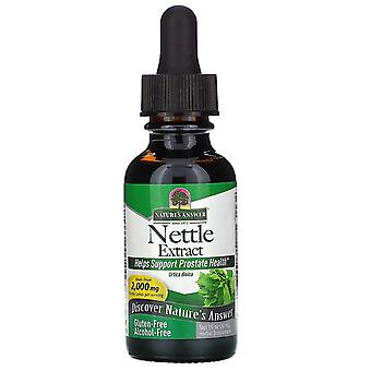 Nature's Answer, Nettle Extract, 2.000 mg, 1 fl oz (30 ml)