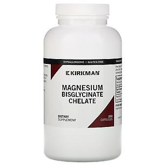Kirkman Labs, Magnesium Bisglycinate Chelate, 250 Capsules