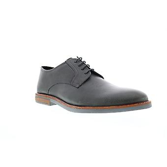 Ben Sherman Brent Plain Toe  Mens Gray Lace Up Oxfords Shoes
