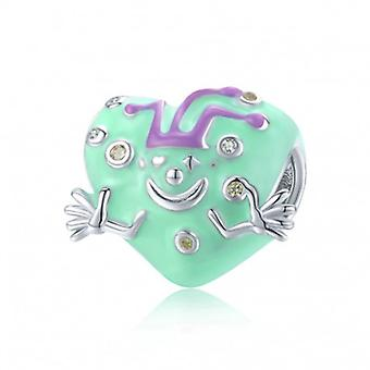Sterling Silver Charm Clown - 6752