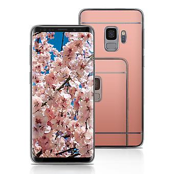 Mobile Shell TPU for Samsung Galaxy S9 Mobile Protection Rubber Phone Mirror Mobile Case
