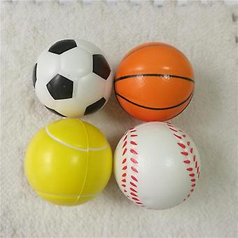 Baskets anti-stress, footballs, baseballs, tennis soft pu foam squeeze