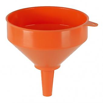 Trichter Messingsieb 200 mm Polyethylen 2,9 Liter orange
