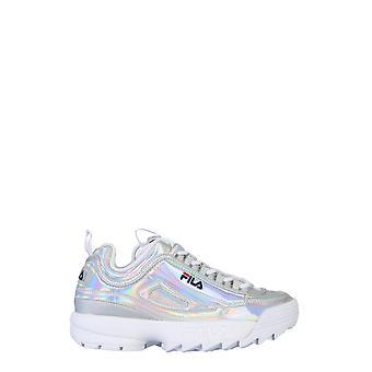 Fila 10107473vw Women's Silver Polyurethane Sneakers