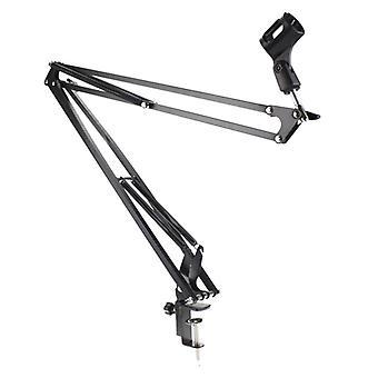 Nb-35 mikrofon-mikrofon saks suspensjon-arm-stativ og bordmontering-klemme Nw Filter Frontruten Shield Metal-mount-kit