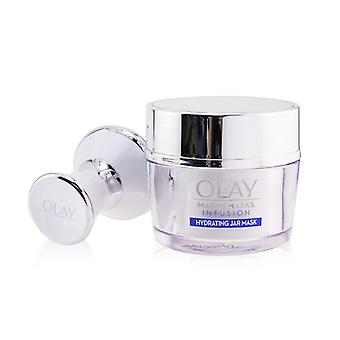 Olay Magnemasks Infustion Hydrating Starter Kit - For Dryness & Roughness : 1x Magnetic Infuser + 1x Hydrating Jar Mask 50g (Box Slightly Damaged) 2pcs