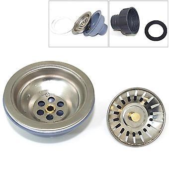 Kitchen Sink Drainer Filter, Disposer Stainless Steel, Plug Stopper For Kitchen