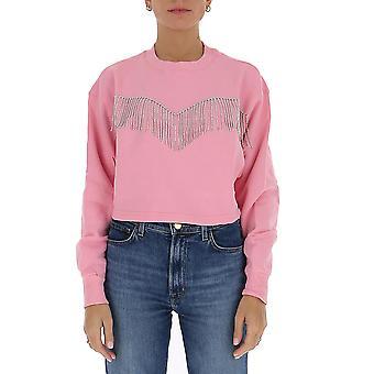 Chiara Ferragni Cff128pnk Femmes-apos;s Pink Cotton Sweatshirt