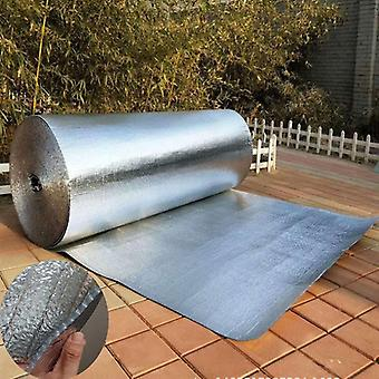 Aluminum Foil Bubble Heat Insulation Film Double Face Material For Roof And Sun