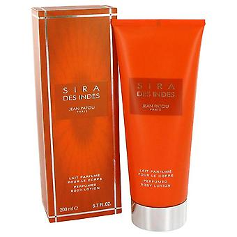 Sira des indes body lotion by jean patou 200 ml
