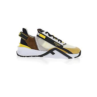 Fendi 7e1392ad7vf1c2f Män's Multicolor Tyg Sneakers