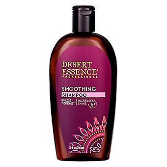 Desert Essence Smoothing Shampoo, 10 Oz(Case of 3)