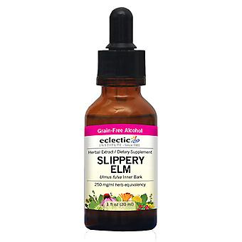 Eclectic Institute Inc Slippery Elm, 250 mg, 1 Oz mit Alkohol