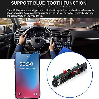 Wireless Mp3 Player Decoder Board Module Bluetooth Amplifier Radio Usb For Car Audio Speaker Kit