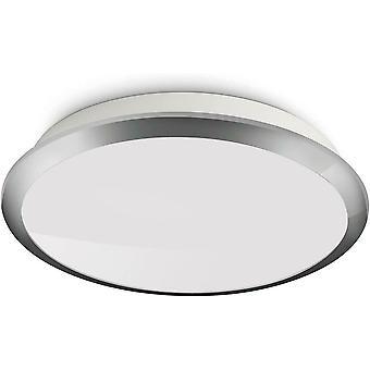 Philips MyLiving Denim LED Ceiling Light (1 x 3 W) - Chrome Trim