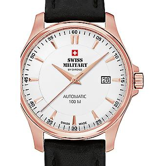 Mens Watch Swiss Military By Chrono SMA34025.10, Automatic, 39mm, 10ATM