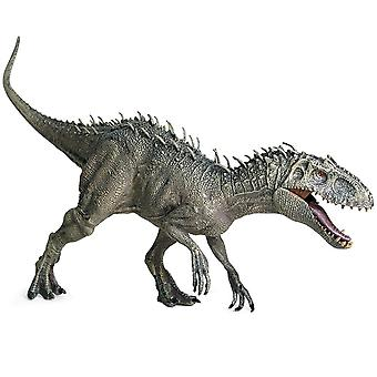 Plástico Jurássico Indominus Rex Action Figures-open Mouth Dinosaur Model