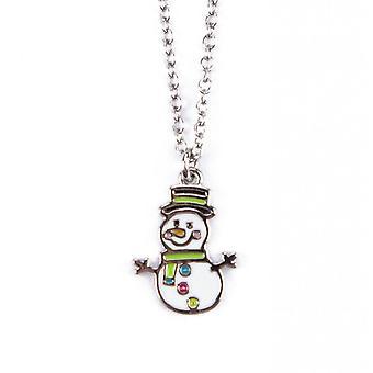 Barnardo's Kidsmas Snowman Necklace