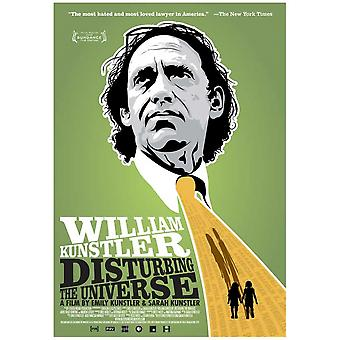 William Kunstler Disturbing the Universe Movie Poster Print (27 x 40)