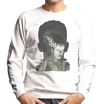 The Bride Of Frankenstein Head Men's Sweatshirt