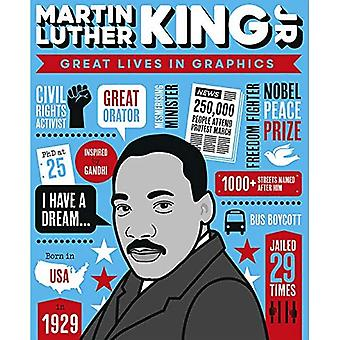 Great Lives in Graphics: Martin Luther King (Great Lives in Graphics)