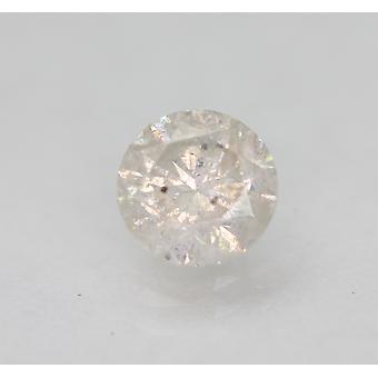 Zertifiziert 0.74 Karat G Farbe Runde Brillant Verbessert enden natürlichen Diamanten 5.64mm