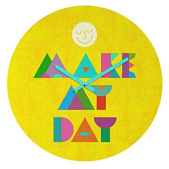 """make My Day"" - Wall Clock"