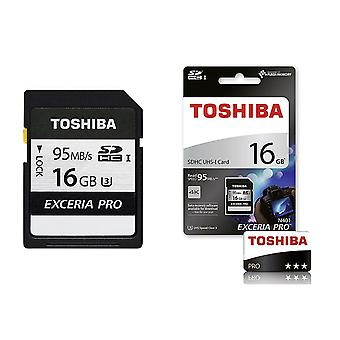 Toshiba EXCERIA PRO N401 95MB/s SD Card - 16 GB