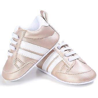 Baby Casual Crib Shoes Unisex Infant Lace Up Soft Sole Casual Shoes