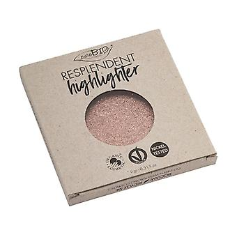 04 Compact Highlighter - Resplendent Highlighter - Replacement Rose Gold 04 9 g