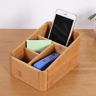 Office Bamboo Storage Box